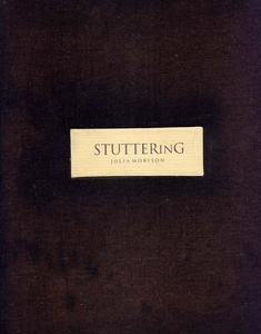 cover of StutterinG (artists book)